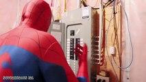 Spiderman vs Venom vs Frozen Elsa! Elsa Saves Kidnapped Spidey! Superhero Fun in Real Life