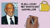 Top 10 Richest Actors in the World ☆ 2018 mp4 - video