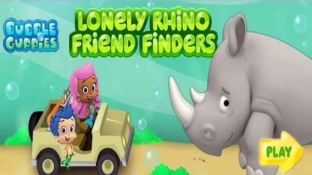 Bubble Guppies Lonely Rhino Friend Finder - Bubble Guppies Games for Kids