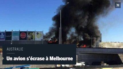 Australie : un avion de tourisme s'écrase sur un centre commercial
