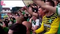 Les fans du Celtic Glasgow mettent l'ambiance face à Kilmarnock