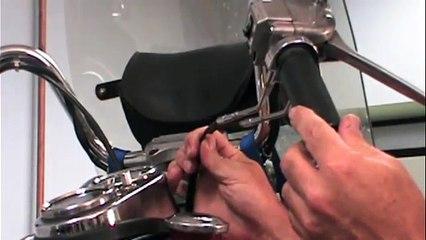 S&S E & G Carb Installation for Shovelhead motorcycles