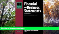 Best Ebook  Financial and Business Statements (Barron s Financial   Business Statements)  For Full