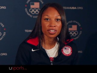 Allyson Felix, Olympic Gold Medalist, Gets The Power Of Plyometrics | EXCLUSIVE