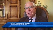 Hautes-Alpes : Pierre Bernard-Reymond, l'ancien sénateur rend hommage à Jean-Claude Chappa