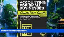 Popular Book  Accounting: For Small Businesses QuickStart Guide - Understanding Accounting For