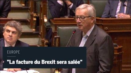 Juncker : «La facture du Brexit sera salée» pour les Britanniques
