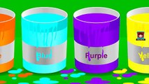Learn Colours with Paints 3D Balls - Learn Colors for Toddlers - Fun Educational Videos