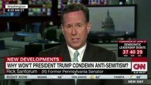Rick Santorum Suggests Muslims, Obama Are To Blame For Anti-Semitic Acts