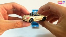 Tomica Toy Car Porsche Boxster Hot Wheels Speed Dozer Kids Cars Toys Videos HD Collection