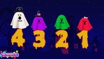 Play Doh 123 Stop Motion | Play Doh De Halloween En Stop-Motion De Números | 123 | Canción De Halloween S