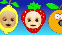Teletubbies Finger Family Fun Action Baby Finger Song Custom 3D Fingers with Dancing in