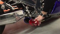 2016 Hayabusa Bolt On - Voodoo Custom Exhaust - video dailymotion