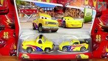 11 New Cars John Lasseter Nancy Lassetire new Mach Matsuo Tokyo Mater Disney Pixar Cars T