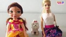 Fortune Days Belle Doll Color Me Cute Girl Dolls for Children Barbie Girls Dolls Videos