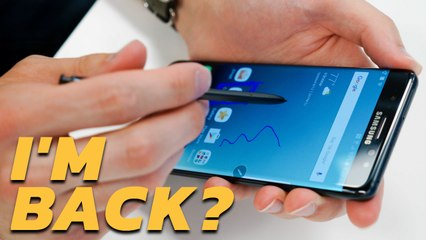 The Note 7 Is Back... Sorta