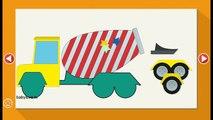 Kids Puzzles Cars and Trucks / Машинки пазлы для детей