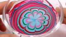 DIY Cómo Hacer que los Colores de Manicura de Uñas de Arte de Aprender los Colores Limo Arcilla Números Contando Orbeez  