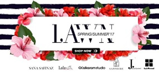 Summer / Spring Lawn Collection 2017 in Pakistan - Yayvo.com