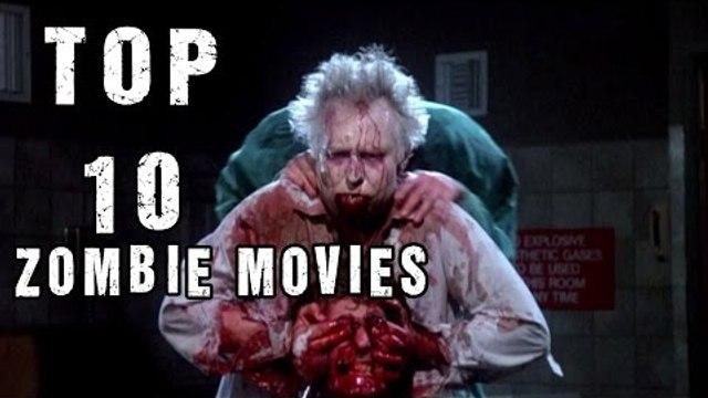Top 10 Zombie Movies | Must Watch Zombie Films | Horror Videos | Dark Moon Horror