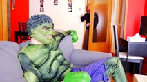 Spiderman vs Hulk vs Zombies extreme Virus Contamination! Fun Zombie Superheroes In Real L