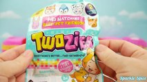 Twosies Play Doh Surprise Egg and 12 Pack Moose Toys Opening with Twozies Babies & Baby An