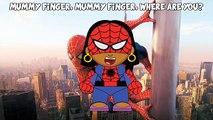 PEPPA PIG SPIDERMAN Dedo de la Familia | Daddy Dedo canción de cuna Canción de #Animación Para los Niños y