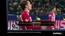 Quand Antoine Griezmann proteste contre la sortie de Kevin Gameiro (vidéo)
