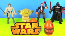 Star Wars Surprise Egg Yoda Han Solo Darth Vader Luke Skywalker Boba Fett Build Lego Angry Birds