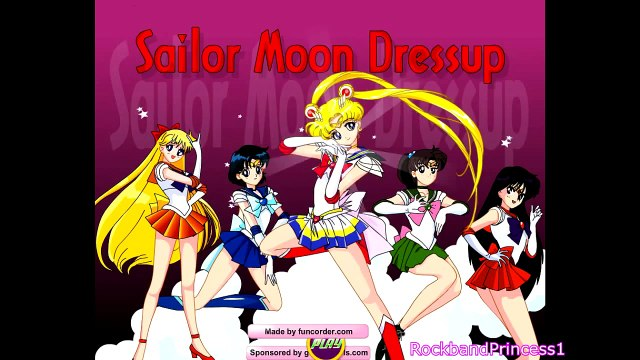 Sailor Moon Games - Sailor Moon Dress Up Game - Free Online Games For Girls and Kids