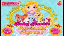 Baby Barbie Pets Beauty Pageant - Barbie Pets Care Games for Kids