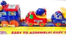 Поезд и автомобилей Видео для малышей Поиграю игрушечный поезд Строительное оборудование I Поезда Видео Для детей