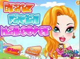 BRATZ FACIAL MAKEOVER GAME - SPA DRESS UP GAMES FOR GIRLS   IRISGAMESTV