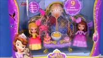 Sofia the First Masquerade Dress Up Party with Princess Amber in Sofias Magical Talking C