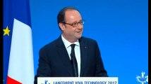 François Hollande a retrouvé le sens de l'humour et de l'auto-dérision