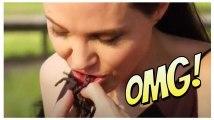 Angelina Jolie fait manger des insectes à ses enfants...