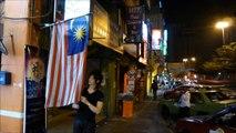 マレーシアの美容院で可愛い子供とイスラム教徒、夜のKLタワー,Children of Malaysia
