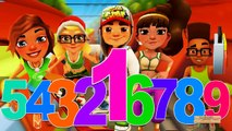 Subway Surfers Cheats 123 Numbers For Kids | Hulk 123 Songs for Children | 123 Song