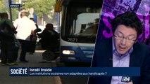 Israël : les institutions scolaires non adaptées aux handicapées?