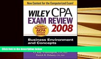 READ book Wiley CPA Exam Review 2008: Business Environment and Concepts (Wiley CPA Examination