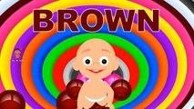 Los colores de Aprendizaje para los Niños 3D de la muñeca del Bebé la hora del baño play 3   Aprender los colores para los niños de Gatear