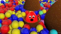 Aprender los Colores de la Colección de 1 HORA de Enseñar los Colores para Niños Bebé Niño con Bañera de Bebé y 3D C