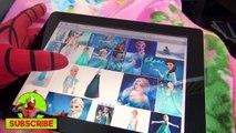 Pink SPIDERGIRL Frozen Elsa & Spiderman - Spidergirl Elsa Kisses Spiderman - Fun In Real L
