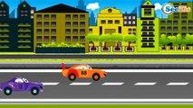 Carros de Carreras. Coche DEPORTIVO. Dibujos animados de COCHES. Carros Para Niños Parte 2