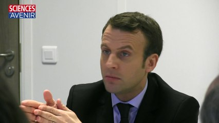 """Emmanuel Macron : """"Je veux faire de la centrale de Fessenheim un site pilote de démantèlement"""""""