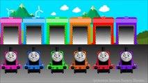 Bebé a Aprender los Colores, Thomas y sus Amigos, Mi Primera Thomas de Anidación de Motores, Juguetes Preescolares, Ba