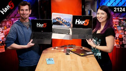 USB Hacks for Windows, Linux, and Macs - Hak5 2124