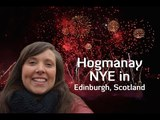 Hogmanay New Years Eve Celebrations in Edinburgh, Scotland