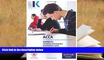 Best Ebook  P5 Advanced Performance Management - Complete Text: Paper P5  For Kindle