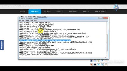 Shared 4 web premium link generator